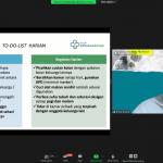 Dokter Spesialis Paru hadir di Webinar Covid Bersama Tim Dokter Muslimah Wahdah Islamiyah